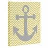 Yellow Anchor Wrapped Canvas Art