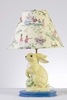 Yellow Cabbage Bunny Lamp