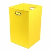 Yellow Canvas Laundry Bin