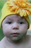 Yellow Daisy Cotton Hat