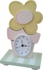 Yellow Daisy Table Clock