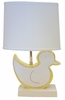 Yellow Duck Character Personalized Ceramic Figure Lamp