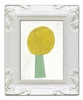 Yellow Flower Decorative Framed Art Print