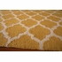 Yellow Geo Lattice Rug