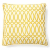 Yellow Geo Pillow