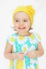 Yellow Geranium Cotton Hat