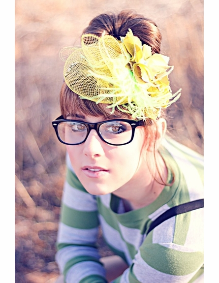 Yellow Gorgeous Headband