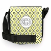 Yellow Ikat Diamond Monogram Sling Bag