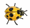 Yellow Lady Bug Drawer Pull