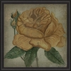 Yellow Rose Framed Wall Art