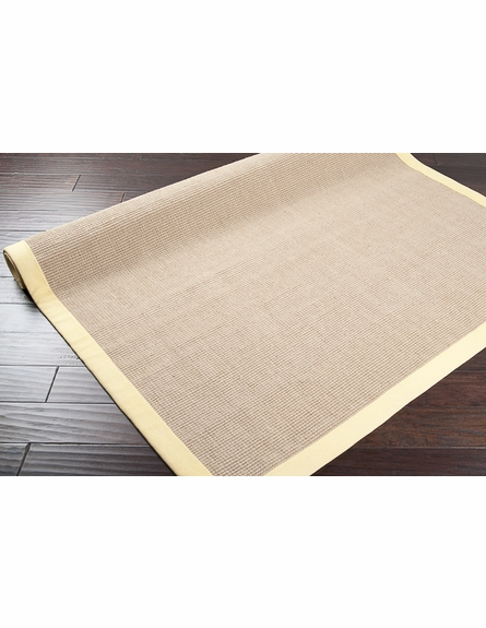 Yellow Soho Jute Rug