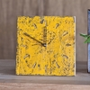 Yellow Unysn Elm Clock