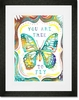 You Are Free To Fly Framed Art Print