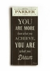 You Are What You Dream Vintage Wood Sign