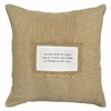 You Have Given Me Patch Throw Pillow