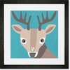 Young Buck Framed Art Print