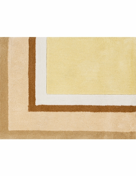 Young Life Border Rug in Beige
