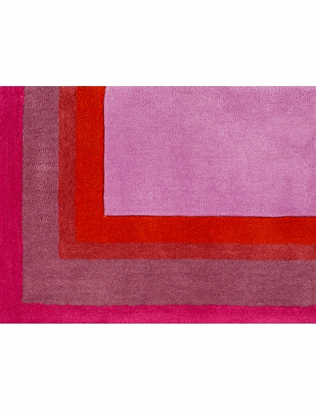 Young Life Border Rug in Orchid