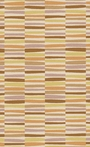 Young Life Striped Rug in Beige and Butter