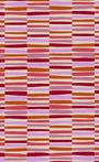 Young Life Striped Rug in Orchid and Plum