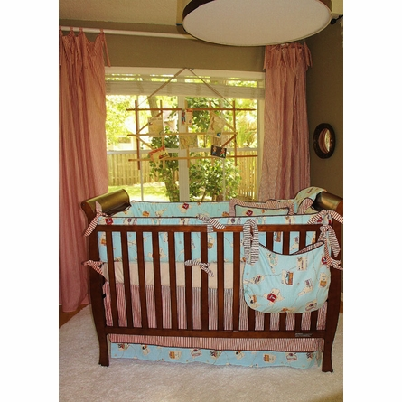 Zachary Crib Bedding - 3 Piece Set