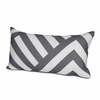 Zara Throw Pillow Cover in Pewter