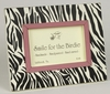 Zebra Black Tabletop Picture Frame