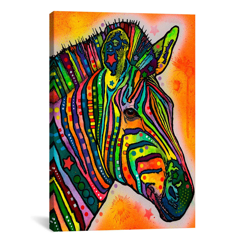 Zebra Wall Art Canvas 78