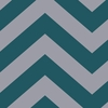 On Sale Zee Teal Removable Wallpaper