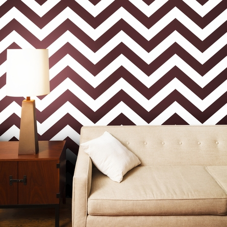Zee Wild Cherry Removable Wallpaper