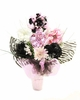 Zestfully Zebra Budding Beauty Flower Hat Bouquet