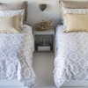 Zia Duvet Cover in Natural