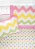 Zig Zag Baby Blanket in Rainbow