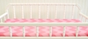 Zig Zag Baby Changing Pad Cover in Pink Sugar