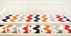 Zig Zag Baby Changing Pad Cover in Rugby