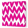 Zig Zag Canvas Wall Art