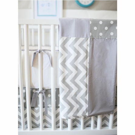 Zig Zag Crib Bedding Set