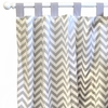 Zig Zag Curtain Panels - Set of 2