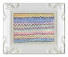 Zig Zag Decorative Framed Art Print