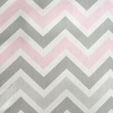 Zig Zag in Pink and Gray