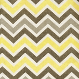 Ziggy Yellow Taupe 100% Cotton