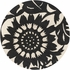 Zinnia Ebony Cream Thomaspaul Rug