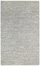 Zions View Recycled Leather Rug in Silver Gray