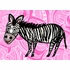 Zippity Zebra Canvas Wall Art