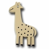 Zoo Friend Giraffe Khaki Drawer Pull