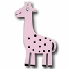 Zoo Friend Giraffe Pink Drawer Pull