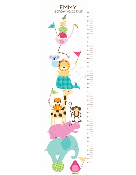 Zoo Friends Growth Chart