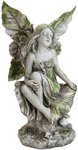 "12"" Fairy Statue on Stump"