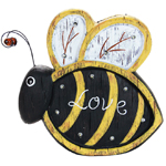 "12"" Solar BumbleBee LED Marquee Statue"