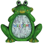"12"" Solar Frog LED Marquee Statue"